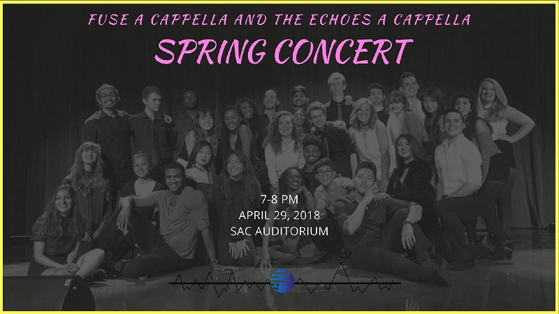 Spring Showcase: Fuse A Cappella and The Echoes A Cappella