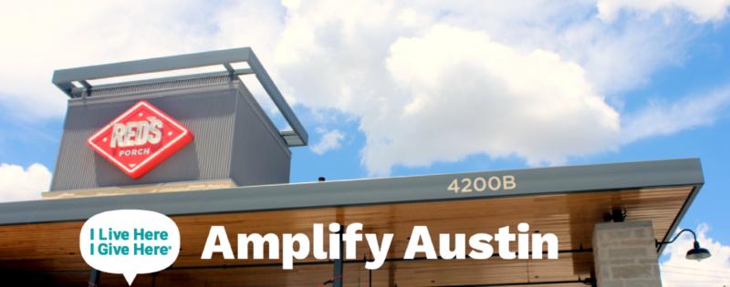 Amplify Austin Kick-off at Red's Porch